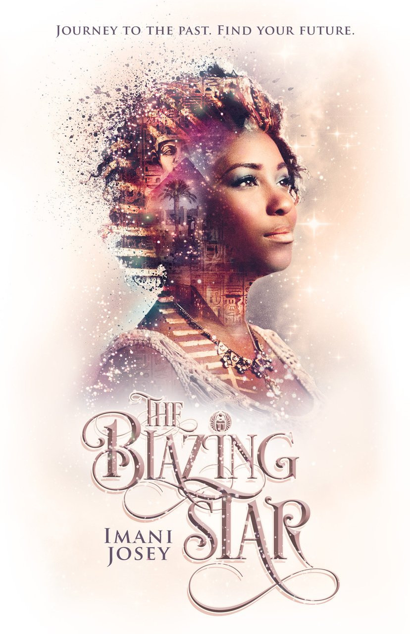 Book cover of The Blazing Star by Imani Josey.