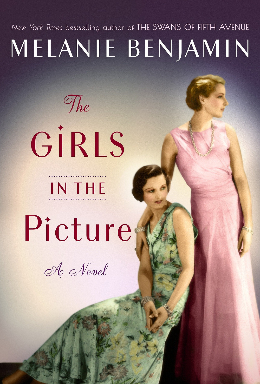 Book cover of The Girls in the Picture by Melanie Benjamin.