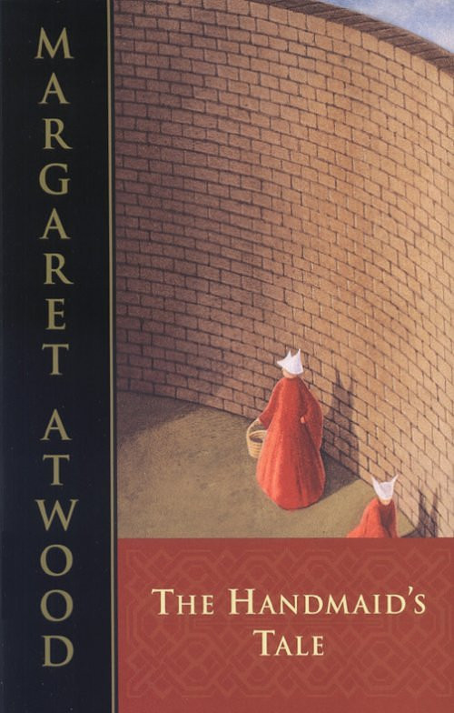 """Book cover of """"The Handmaid's Tale."""""""