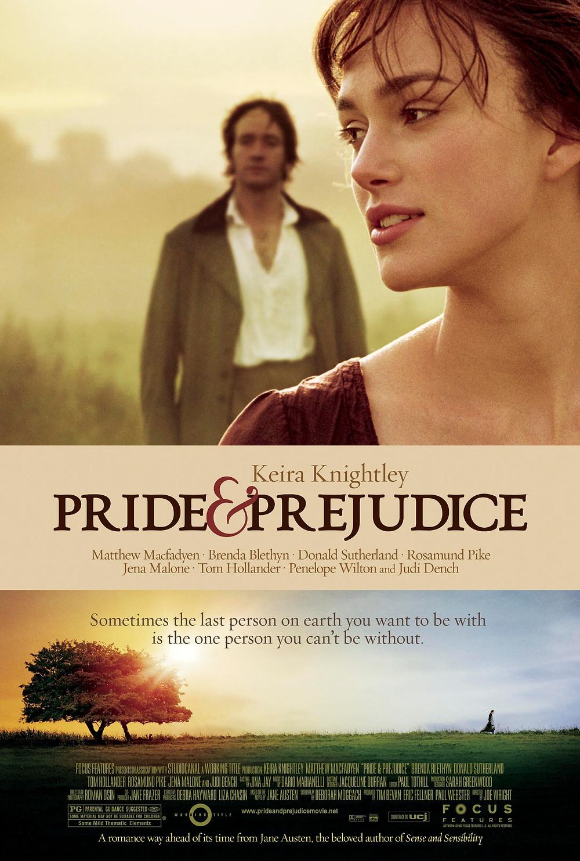 Pride & Prejudice movie poster.