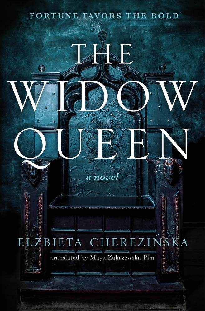 Book cover of The Widow Queen.