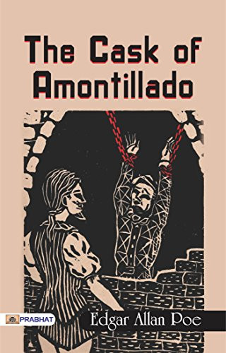 """Book cover of The Cask of Amontillado."""""""