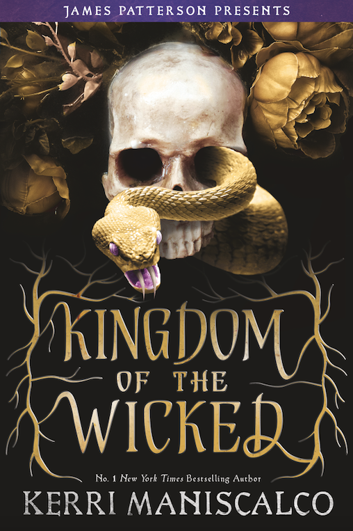 """Book cover of """"Kingdom of the Wicked"""" by Kerri Maniscalco."""