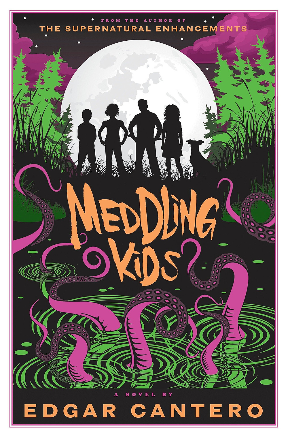 Book cover of Meddling Kids by Edgar Cantero.