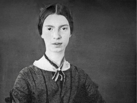 Photo of Emily Dickinson.