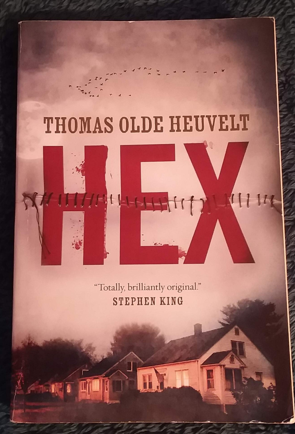 The cover of Hex by Thomas Olde Heuvelt