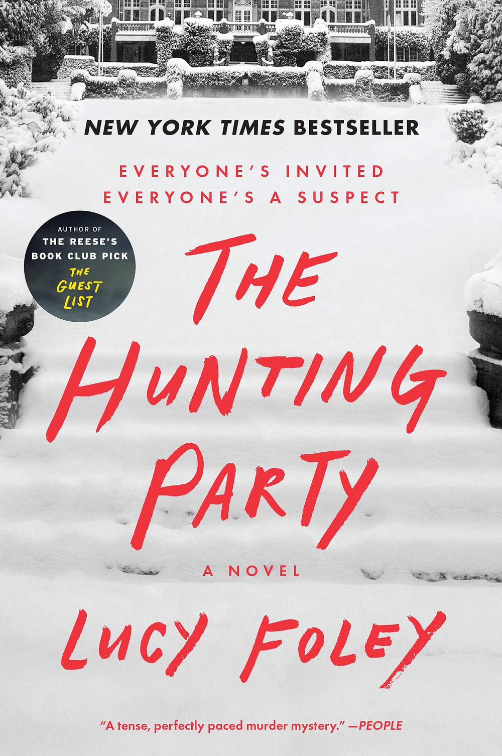 Book cover of The Hunting Party by Lucy Foley.