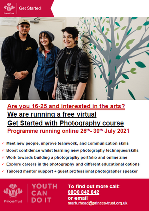 Get started in Photography