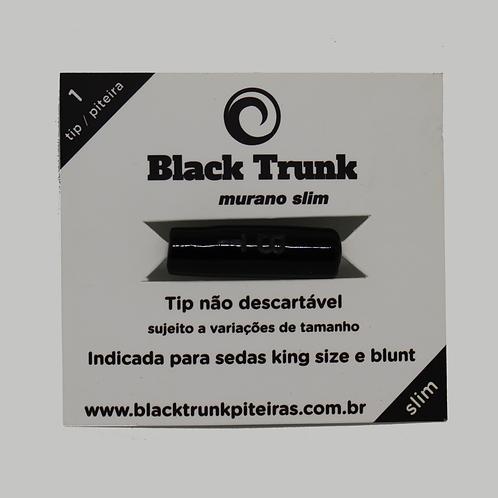 Piteira Murano Black Trunk Pequena