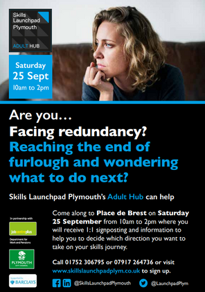 Adult Hub Furlough Event: 25 Sept