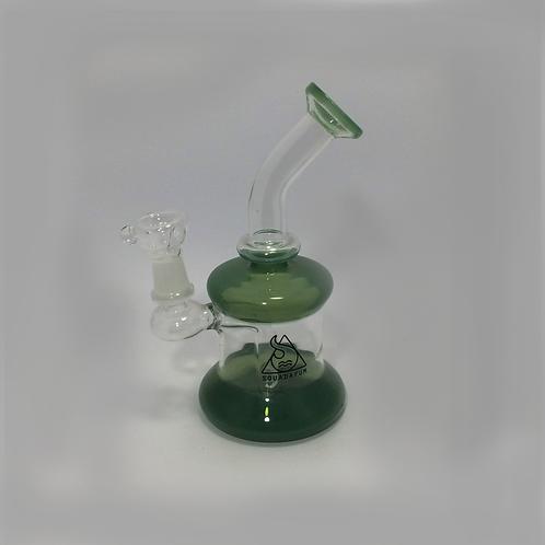 Bong de vidro Squadafum Green 18cm