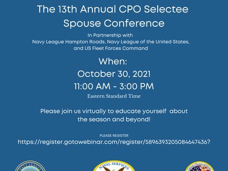 CPO Selectee Spouse Symposium