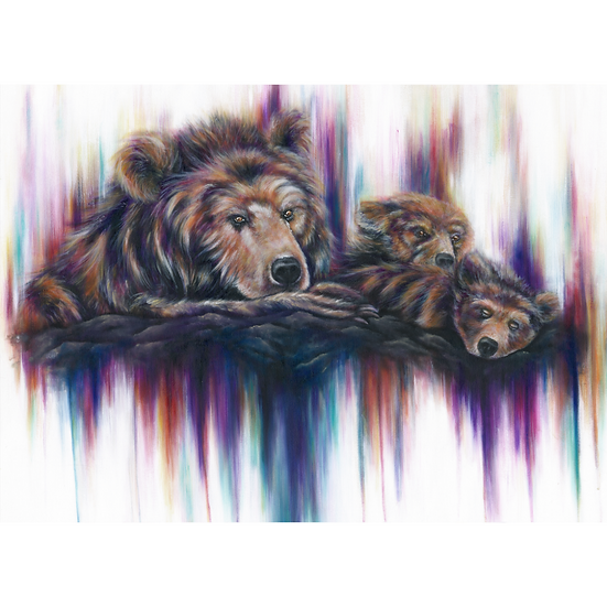 The Grizzlies Art Print