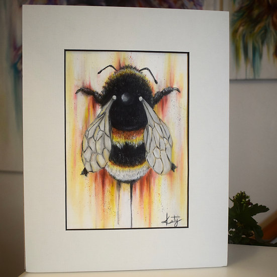 'BUMBLE' ORIGINAL PAINTING WITH MOUNT
