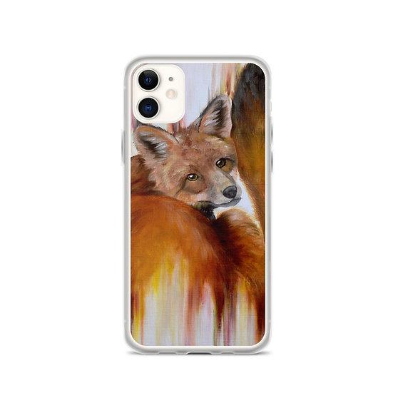 Golden Brown iPhone Case