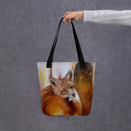 Golden Brown Tote bag