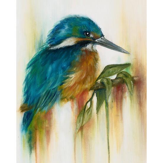 'INTO THE BLUE' ART PRINT