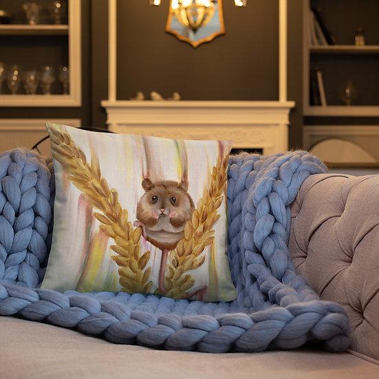 Yellow-Necked Cushion