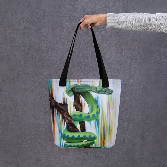 Coiled Over Tote bag