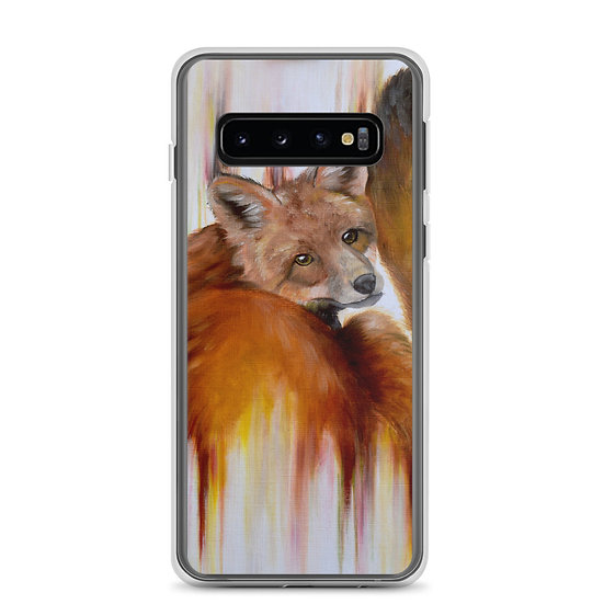 Golden Brown Samsung Case