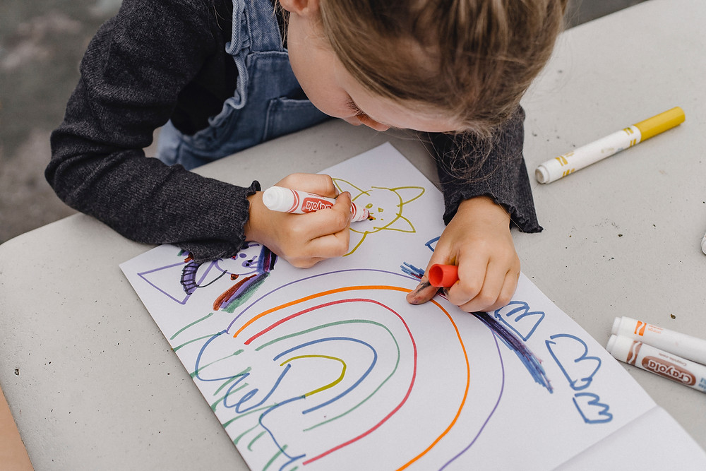 drawing child