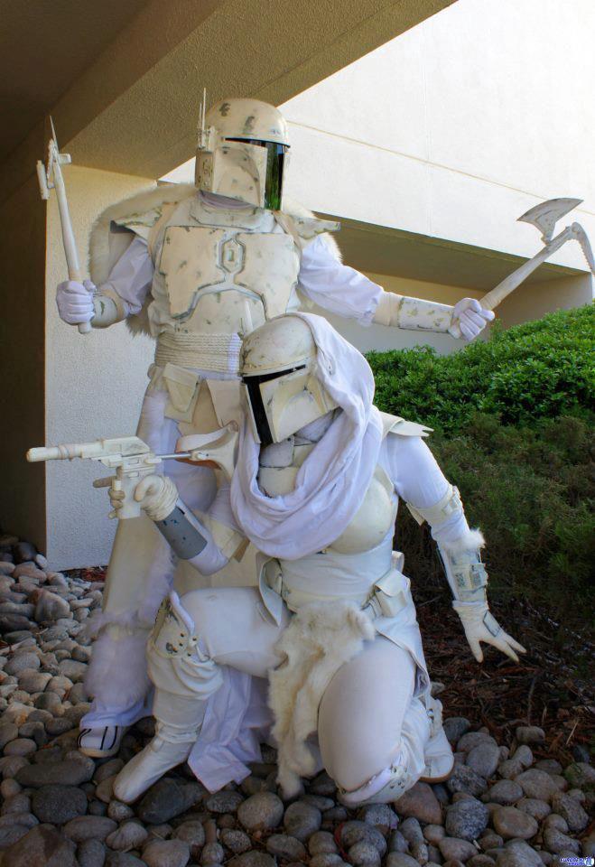 Snow Mandalorians - Star Wars