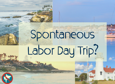 Spontaneous Labor Day Beach Trip?