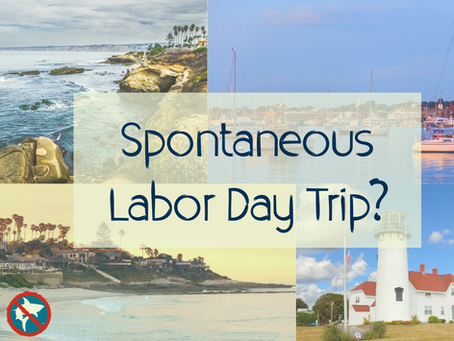 Spontaneous Labor Day Beach Trip?