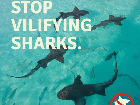 Stop Vilifying Sharks!