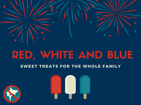 Red, White and Blue: Sweet Treats for the Family
