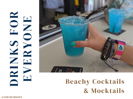 Beachy Cocktails and Mocktails