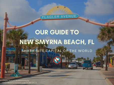 Our Guide to New Smyrna Beach, FL: Shark Bite Capital of the World