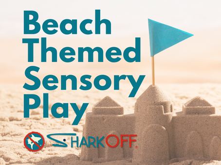 Beach Themed Sensory Play