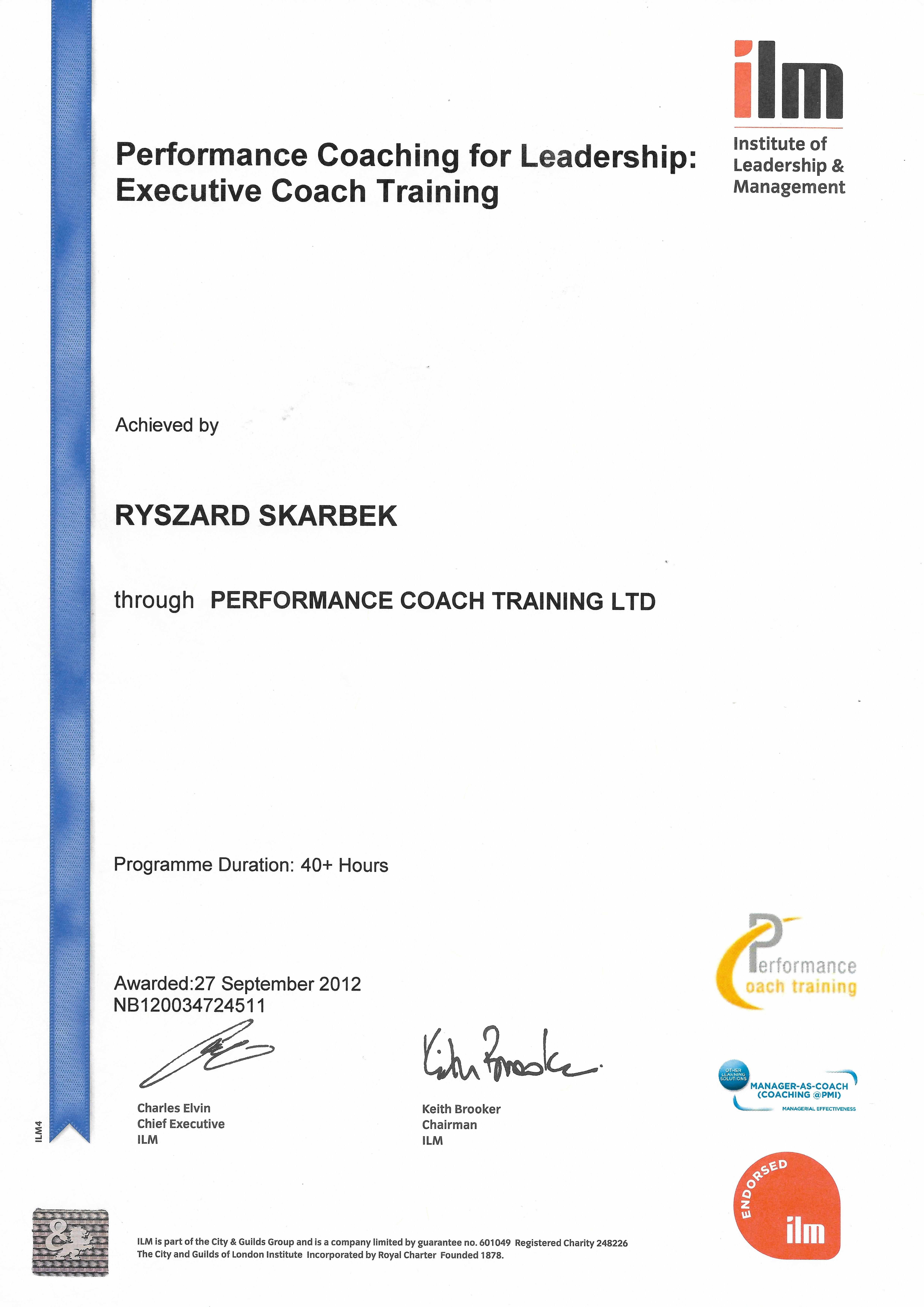 Empowerment Coaching: CfPAC Certificate