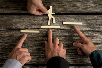 Empowerment Coaching: Business teamwork and cooperation