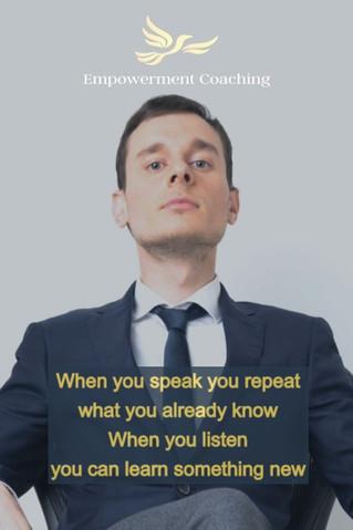 Empowerment Coaching Pill-When you speak