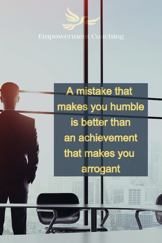 Empowerment Coaching Pill-A mistake that makes you humble.jpg