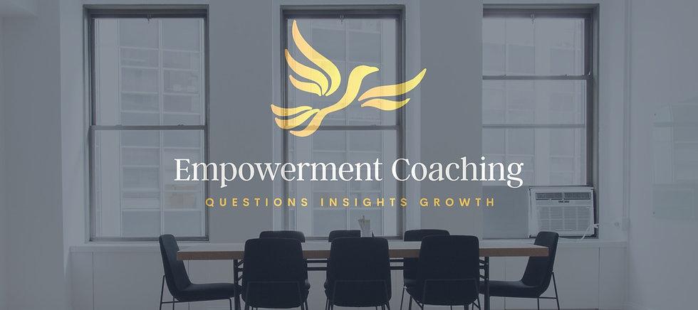 Empowerment Coaching Wallpaper Logo