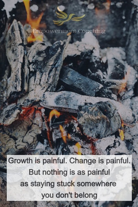 Empowerment Coaching Pill-Growth is painful
