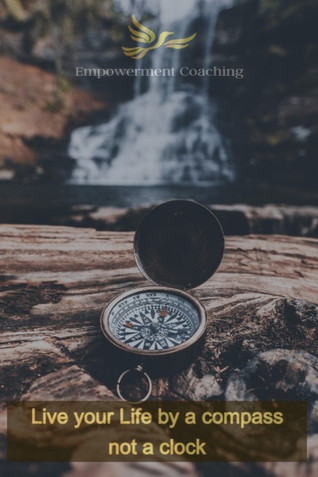 Empowerment Coaching Pill-Live your Life by a compass
