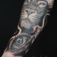 Eye and Lion