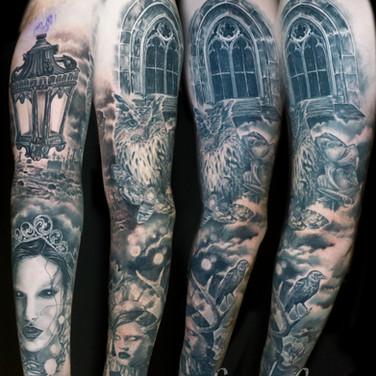 Gothic Sleeve