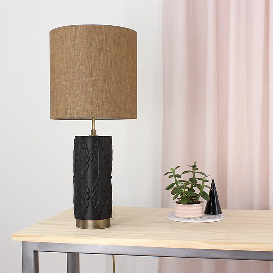 Onyx Flora Table Lamp