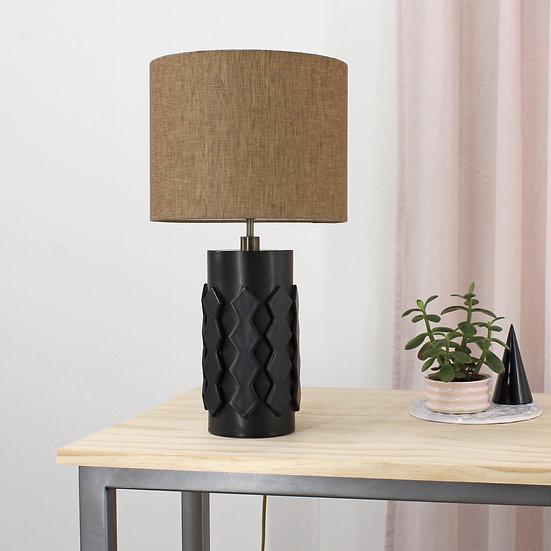 Onyx Zig-Zag Table Lamp