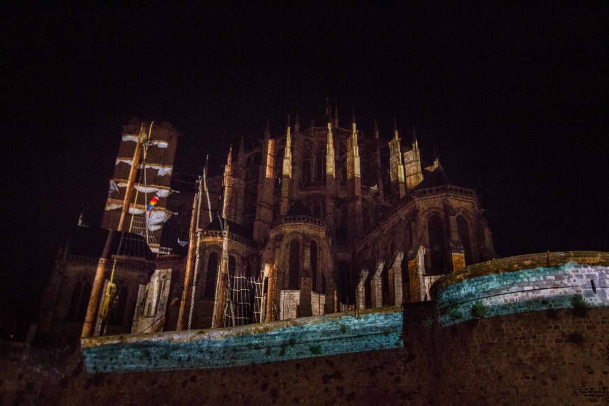 Chevet cathédrale St Julien - 1