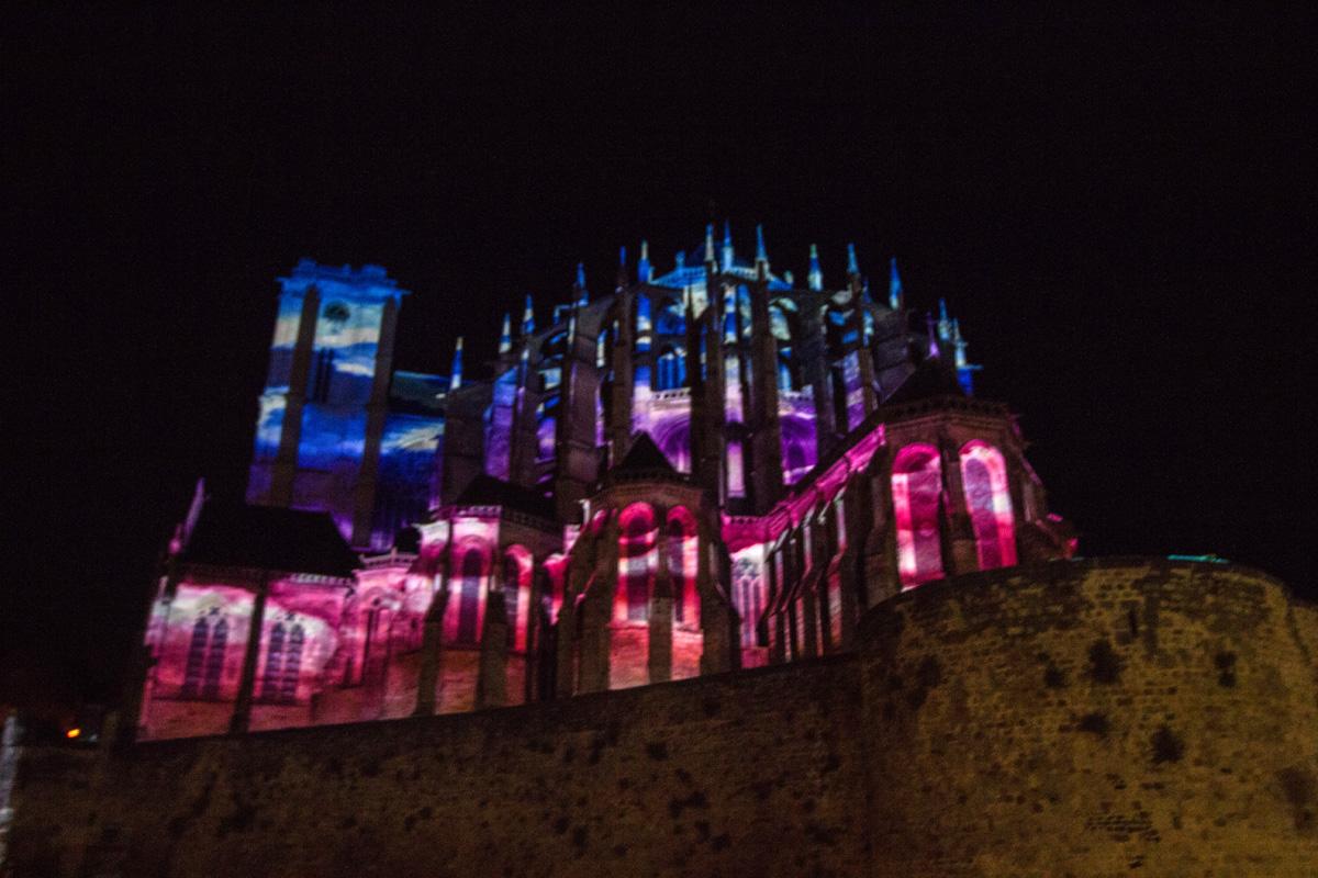 Chevet cathédrale St Julien -  2