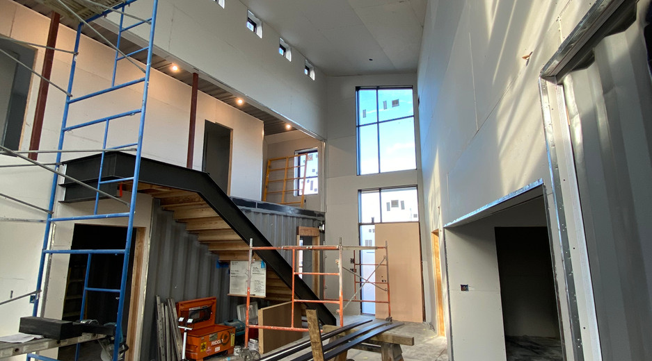 Ebeling House Interior Construction