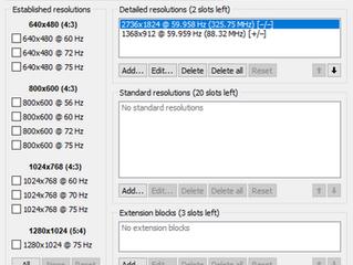 Monitor ad alta risoluzione, problemi con multischermo e vecchi software. Risolto sul mio Surface Pr