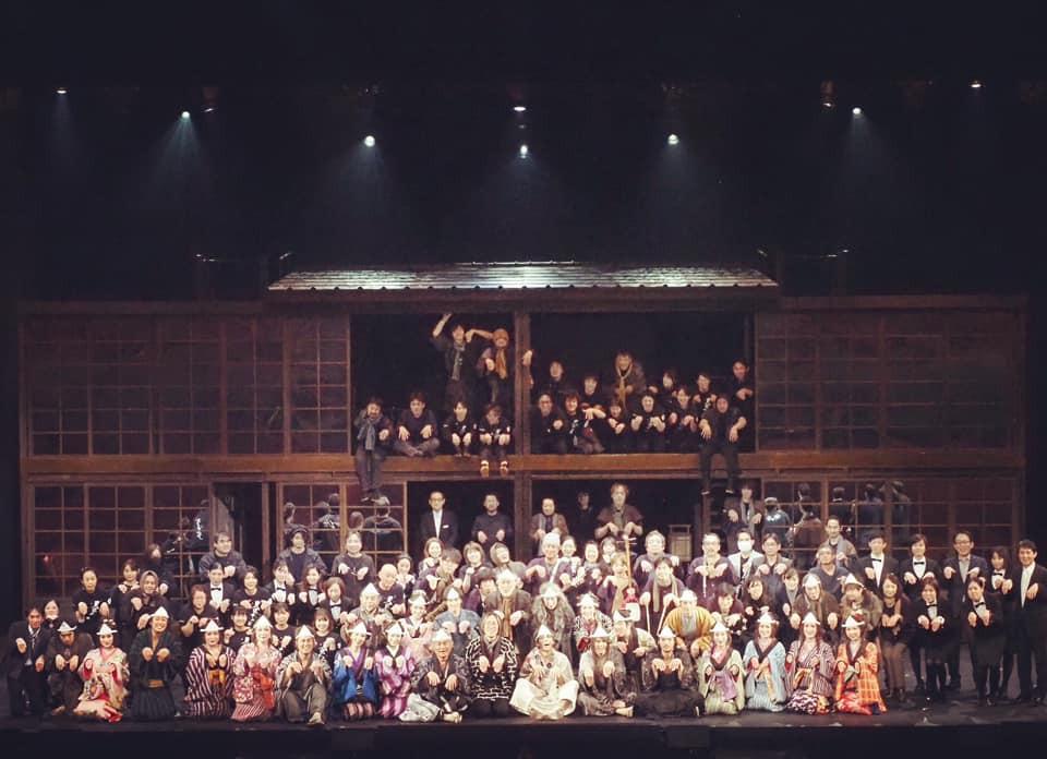 『天保十二年のシェイクスピア』2020年2月28日公演は無観客DVD収録に変更(田中悠美子WEBサイト)
