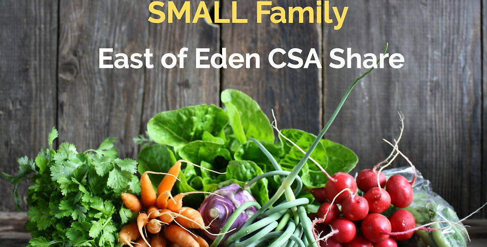 Half Size CSA Farm Share